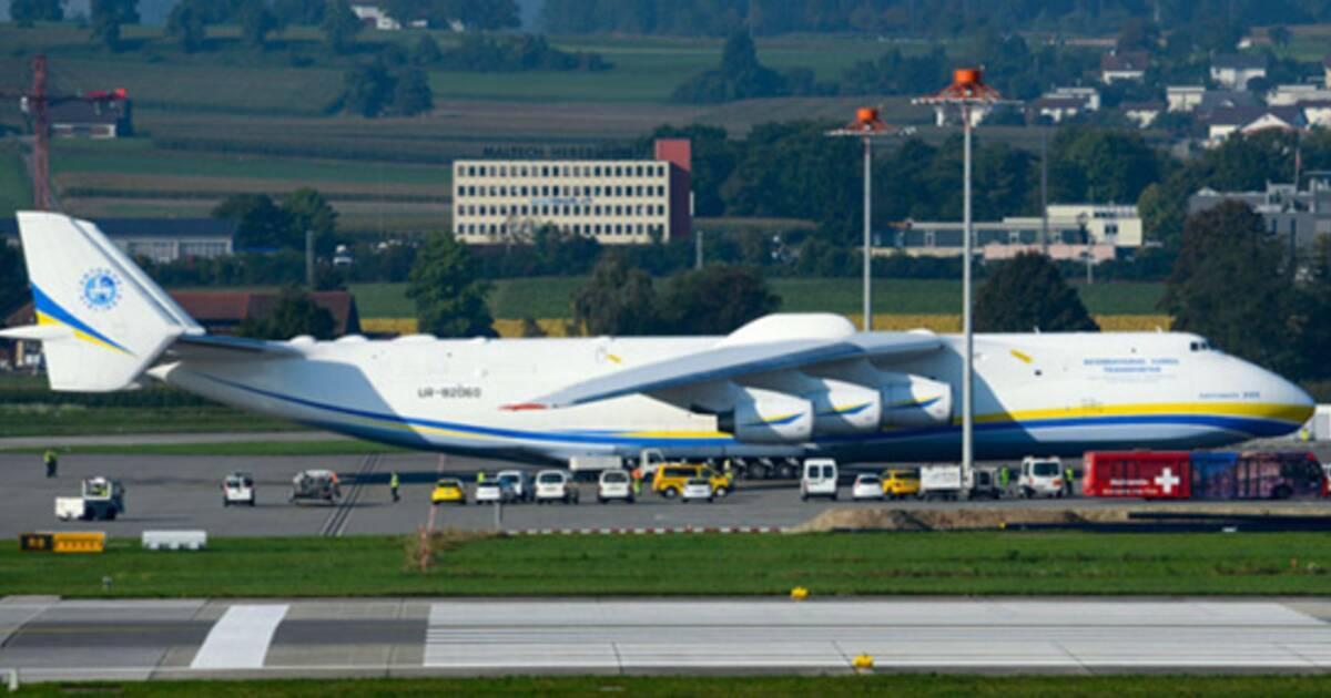 L antonov an 225 le plus gros avion du monde s offre une seconde jeunesse - Quel est le plus grand porte avion du monde ...