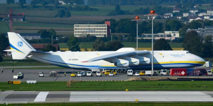 L'Antonov AN-225, le plus gros avion du monde s'offre une seconde jeunesse