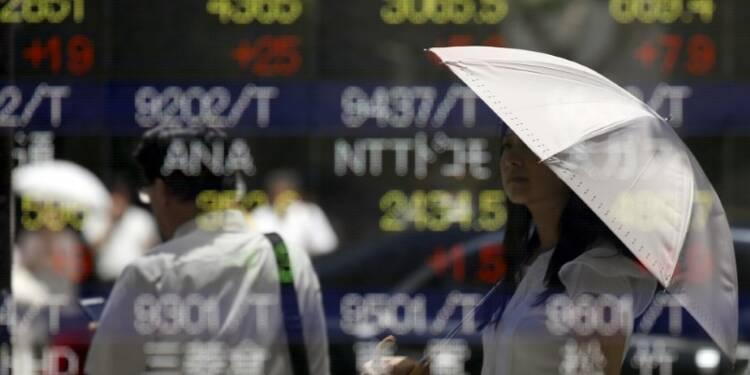 La Bourse de Tokyo finit en légère hausse avec le yen