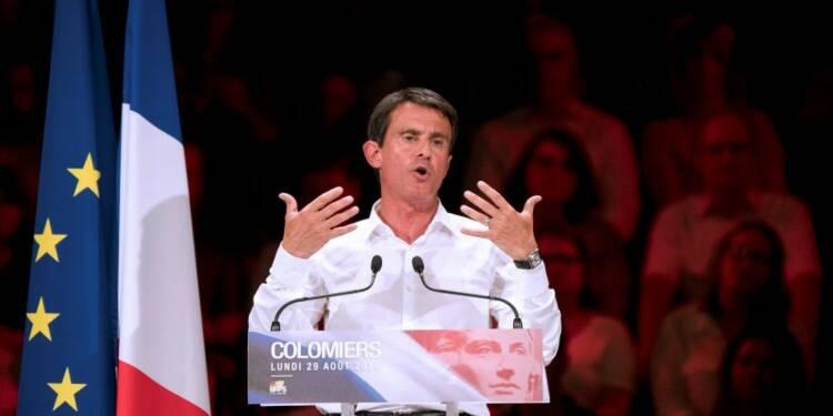 """""""La gauche du réel c'est moi"""", affirme Manuel Valls"""