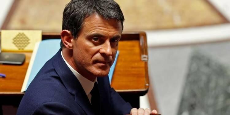 Valls accentue la pression sur Hollande au risque d'une crise