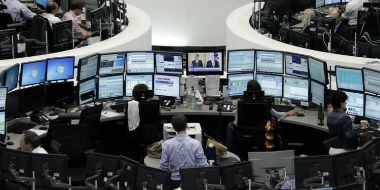 Les marchés européens toujours orientés à la baisse à mi-séance