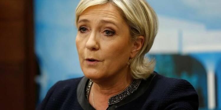Le Pen (26%) devance Macron (21%) et Fillon (21%), selon un sondage