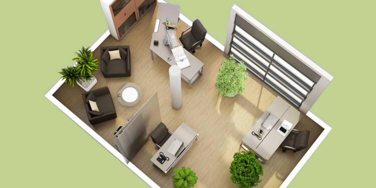 7 conseils pour am nager un bureau la mode feng shui. Black Bedroom Furniture Sets. Home Design Ideas