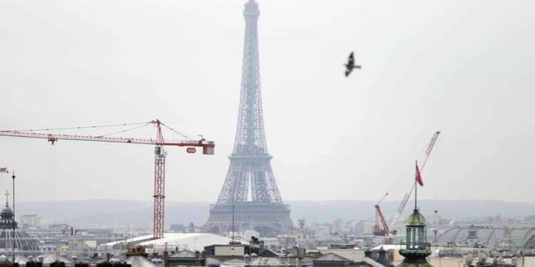 Croissance de l'économie française de 0,2% confirmée au 3e trimestre