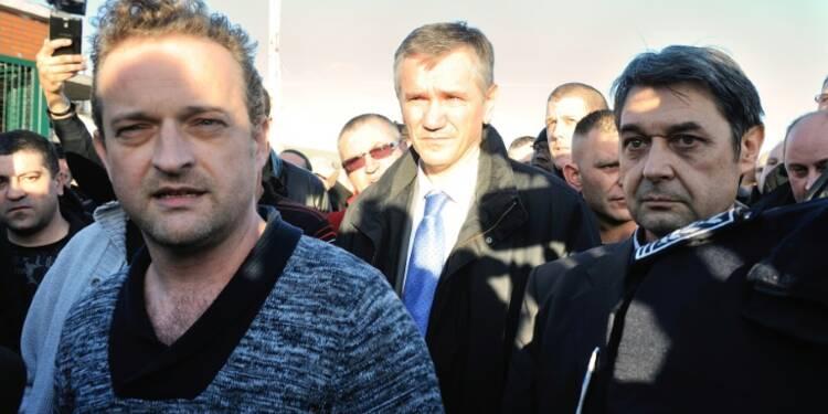 Séquestration à Goodyear: 8 anciens salariés comparaissent en appel