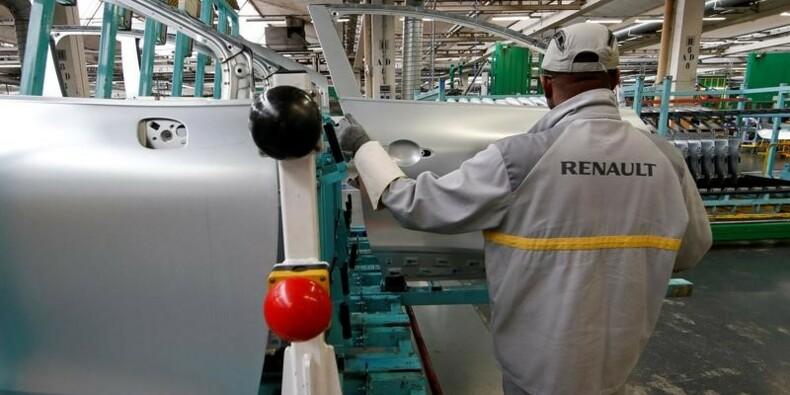 Appel syndical à des débrayages dans l'usine de Renault à Flins
