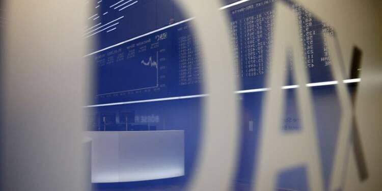 Les Bourses européennes toujours dans le vert à mi-séance
