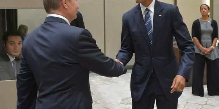 Obama et Poutine persistent pour trouver un accord sur la Syrie