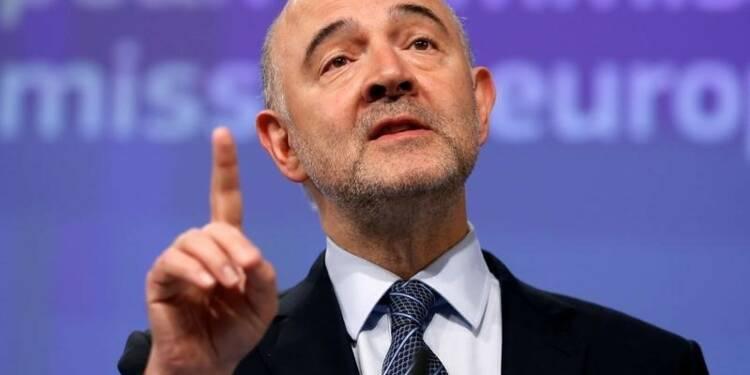 Le déficit devrait être sous les 3% en 2017, dit Moscovici