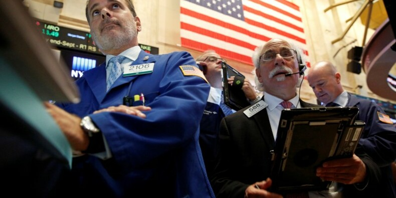 Wall Street finit en net recul à cause de Pyongyang et de la Fed
