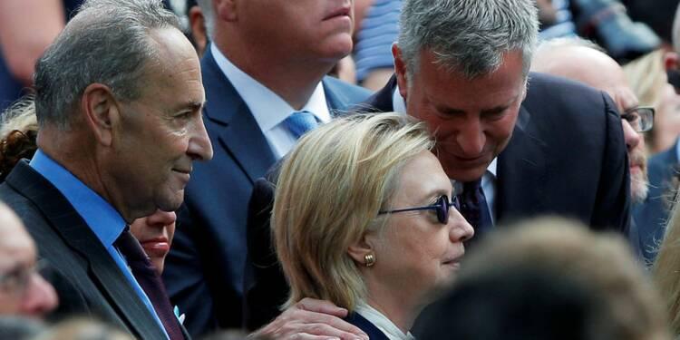 Hillary Clinton a une pneumonie, annule deux jours de campagne