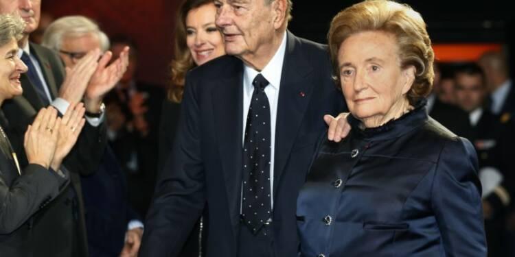 Bernadette Chirac chez elle, Jacques Chirac reste hospitalisé