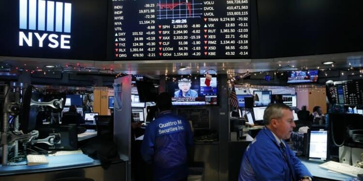 Wall Street ouvre en légère baisse