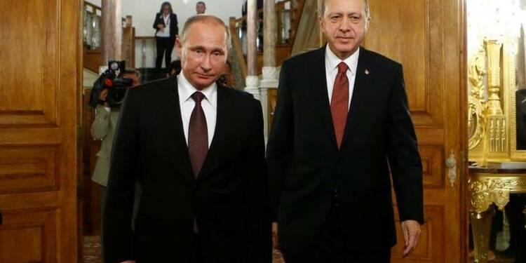 Accord Moscou-Ankara pour le gazoduc TurkStream