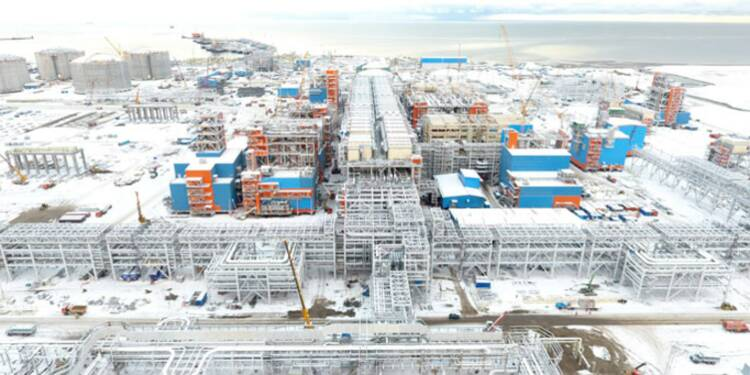 Visite de Yamal, l'usine à 27 milliards de dollars construite au bout du monde