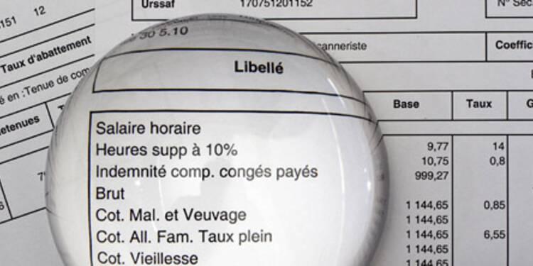 Dans le privé, le salaire moyen atteint 2.410 euros brut