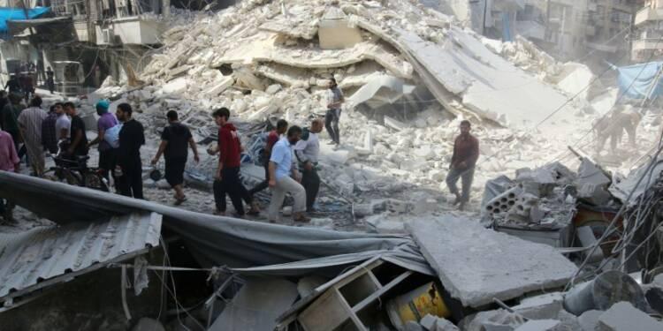Hollande réclame à Poutine un cessez-le-feu en Syrie