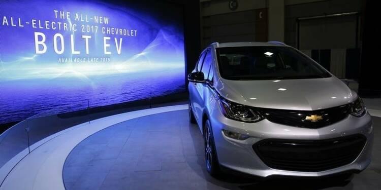 La Bolt EV de GM, rivale directe de la future Tesla Model 3