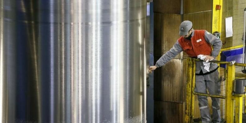 En zone euro, la plus forte baisse en 4 ans de la production industrielle