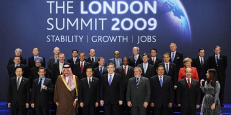 """Le G20 marque l'avènement d'un """"nouvel ordre mondial"""", selon Gordon Brown"""