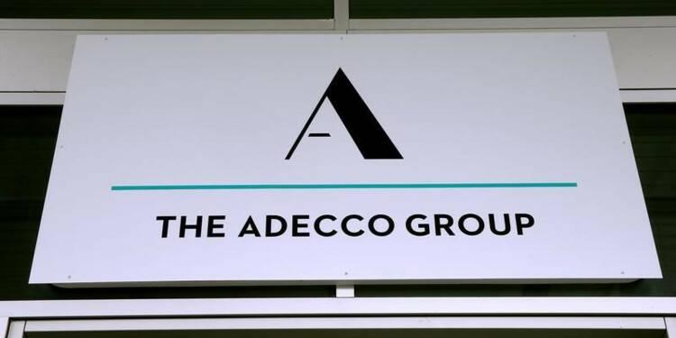 Hausse du bénéfice d'Adecco, mais la pression sur les marges inquiète