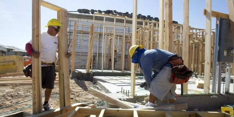 Deuxième mois de baisse des dépenses de construction américaine