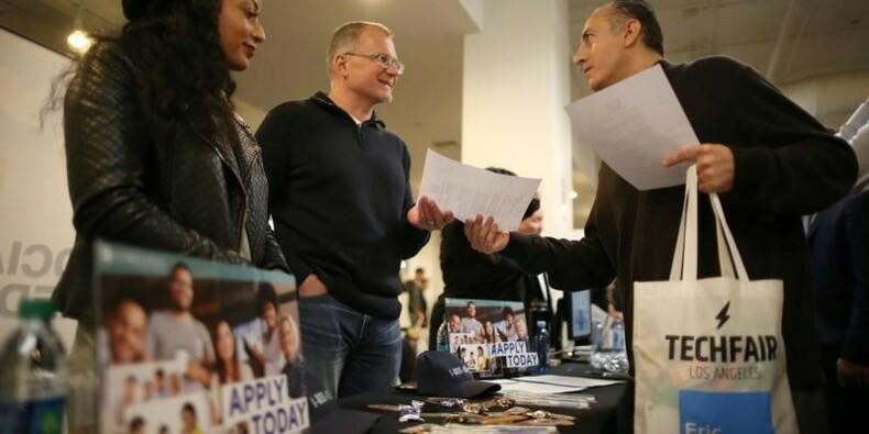 Aux USA, les inscriptions au chômage à un creux de près de 43 ans