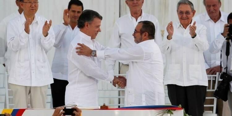 Santos et le chef des Farc pressentis pour le Nobel de la paix