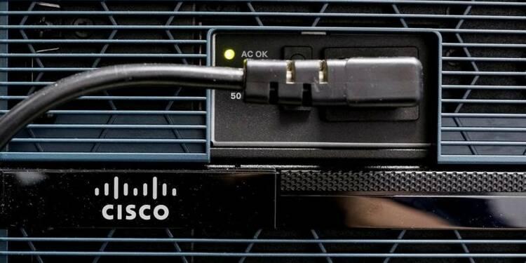 Les prévisions de Cisco déçoivent, le titre chute