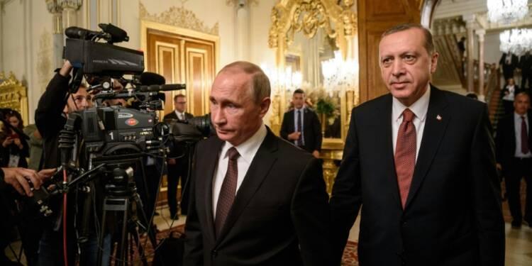 Ankara et Moscou scellent leur réconciliation avec un projet de gazoduc
