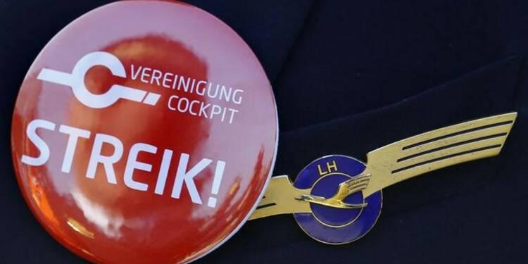 Nouvelle grève des pilotes de Lufthansa mercredi