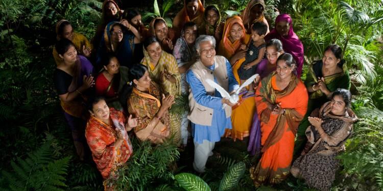 Muhammad Yunus (né en 1940) : banquier des pauvres, créateur du microcrédit