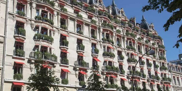 Trou d'air historique pour les palaces parisiens !