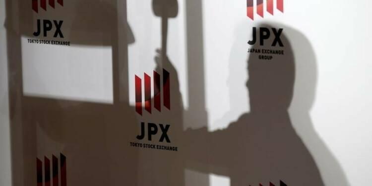 Le yen fort a pesé sur la Bourse de Tokyo