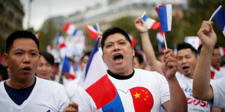 Manifestation contre les agressions anti-Chinois à Paris