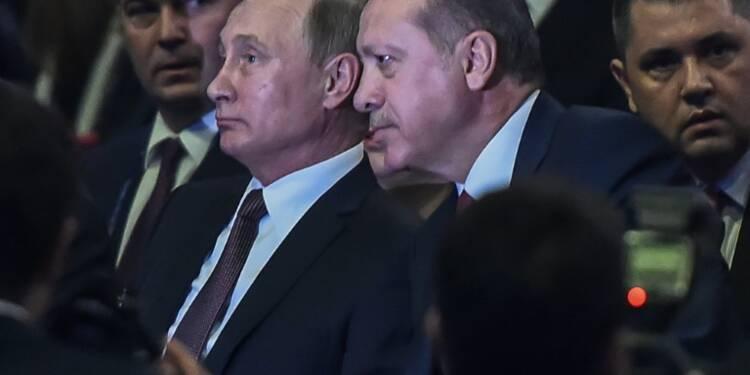 Energie: la Russie et la Turquie signent le projet TurkStream de gazoduc sous la Mer noire