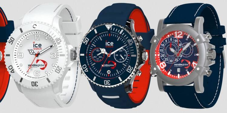 Spécial Vendée Globe : la belle affaire d'Ice-watch, le chronométreur officiel
