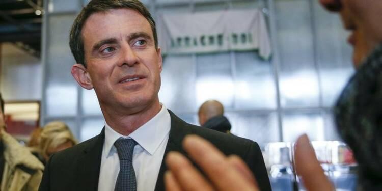 Valls appelle les militants PS à la mobilisation