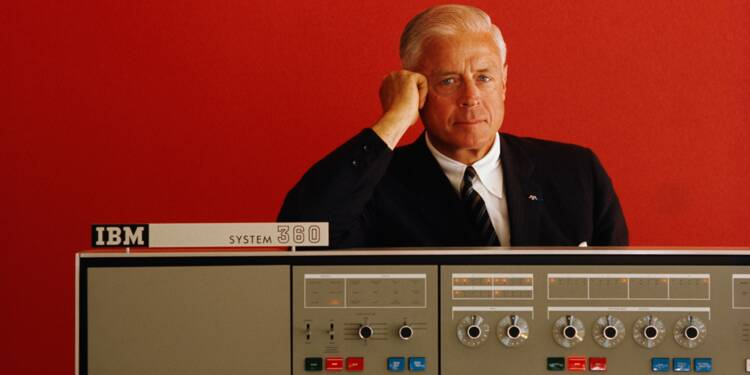 Thomas Watson (1914-1993) : en introduisant l'informatique dans toutes les entreprises, ce boss d'IBM a révolutionné la gestion