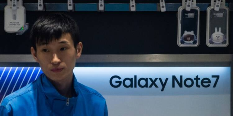 Samsung tire un trait sur son Galaxy Note 7