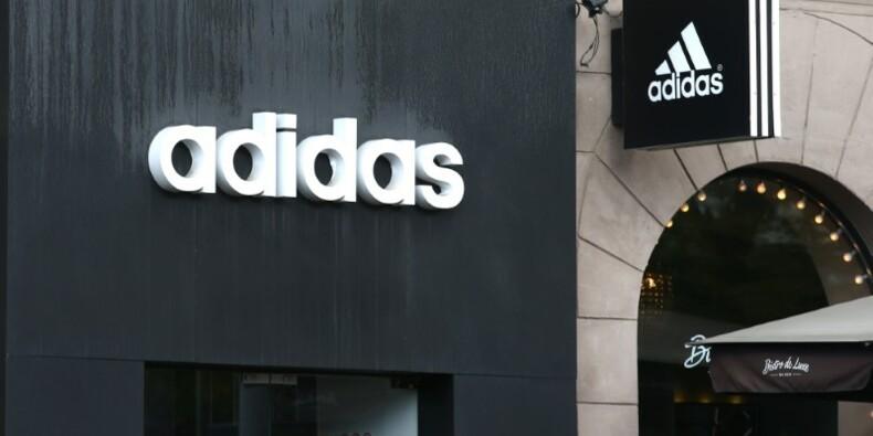 La croissance des ventes ralentit pour Adidas, le titre plonge