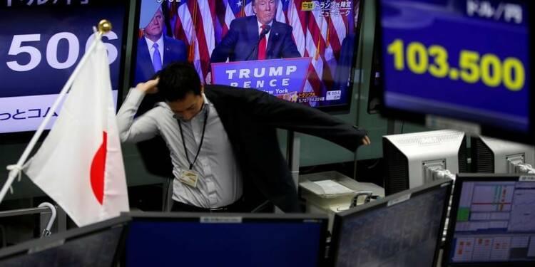 La Bourse de Tokyo rebondit de près de 7%