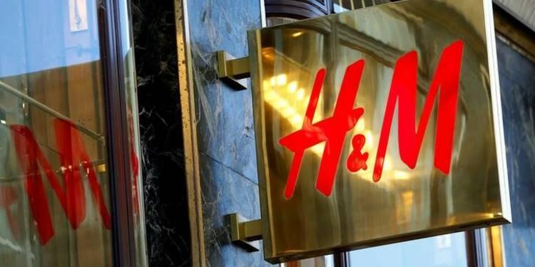 Les ventes de H&M au mois d'août inférieures aux attentes