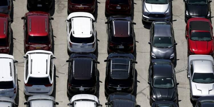 Le marché automobile américain en baisse en janvier