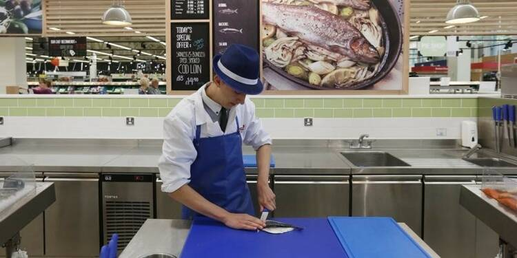 Forte hausse des ventes au détail en Grande-Bretagne