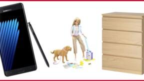 Mobiles Samsung, armoires Ikea, jouets Mattel... ces rappels de produits qui ont marqué l'Histoire