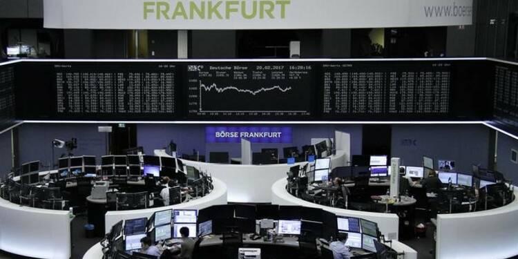 L'Europe termine en baisse, avec Deustche Bank et la Chine