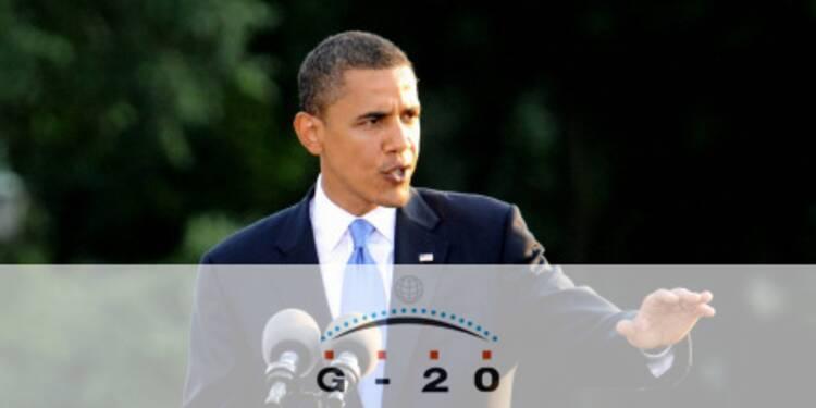 Obama presse les européens de soutenir l'économie