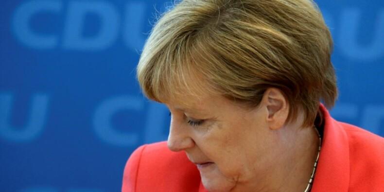 Merkel endosse la responsabilité de la défaite de Berlin